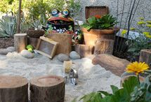 Kids + Outdoors / Outdoor space for kids and little ones. Natural play areas, playgrounds,  and DIY projects for the great outdoors