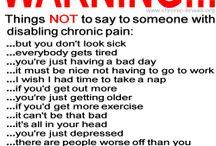 chronic pain / by Amanda Long