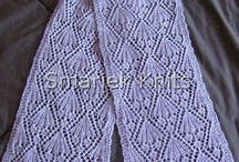 Scarves / Ideas & patterns of scarves I'd like to make