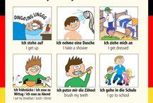 Němčina / Deutsch / Obrázky pro zábavnou výuku německého jazyka
