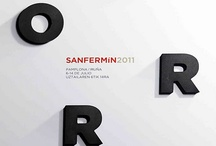 San Fermin Posters / The various San Fermin posters from through the years.
