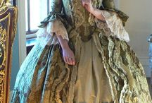 18th century dresses / This is about the clothing worn by women in the 1700's.  It also includes undergarments, hats, shoes, gloves, and jewelry.  I am locating clothing for all social strata as research for a manuscript I am working on.