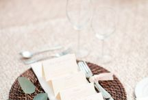 Wedding Menu I C l a s s i c s / by Monterey Weddings~Events by Classic
