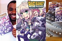 Manga Big Bang! UK's original manga magazine produced exclusively by Dr.Vee