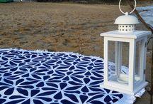 Round beach towel Shrukien / Round beach towel | Serviette ronde | Toalla ronda | Serviette de plage | Toalla de playa | Plaj Havlusu | Ręcznik plażowy | Strandlaken | Hantuche Badtuche