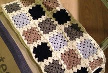 Haaksels / Crochet blankets afghans and other stuff