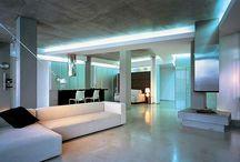 High tech interior