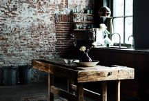Industrial interiors: kitchens