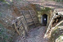 Bunker kaverna / bunkre z prvej svetovej vojny  1.ww Höhle