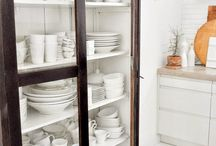 Cabinets for dining