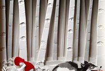 kağıt sanat eseri