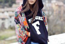 Francesca Venturini / Fashion blogger and stylist Francesca Venturini wears Fornarina Spring Summer 2017 Collection.