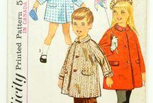 1960s kids sewing patterns