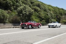 """Dolce Vite D'Estate Tour / Car Shoe follows the steps of one of the milestone of Italia Cinema, the movie """"Il Sorpasso""""."""