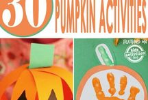 Happy Halloween / Halloween ideas and activities for children in preschool and daycare.