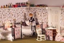 Dolls' House Room Displays; Nurseries  / by Dolls House Emporium
