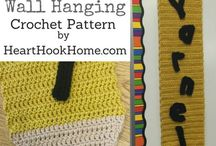 Crochet Patterns for Teacher's Gifts