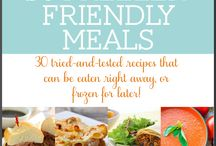 Meal Planning / Ways to plan meals ahead for all those busy days!