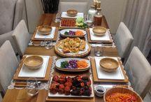 yemek masası dizaynı