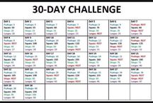 Exercise Challenges, Plans and Tips  / Time to stop being lazy and shape up!