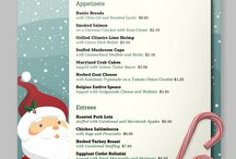 Christmas / The most wonderful time of the year! Make with the merry and bright by delivering the goods to your customers on the cheeriest menu Santa has ever seen. #thenicelist