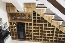 Adega, Bar e Café- Wine House, Bar, Cafe / Ambientes de adegas, bares e cantinho de café residenciais