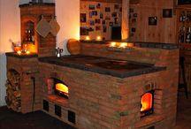 Masonry woodstoves/woodstoves