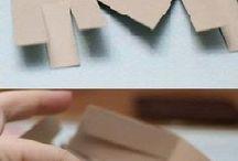 Cestini di cartone