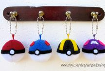 Keychain Plushies / Lots of different cute and nerdy plushies now in miniature keychain size, featuring a ball chain to attach your keys to or to hang from your bag or belt loop! Perfect accessory for cosplayers or for gamers of all ages!