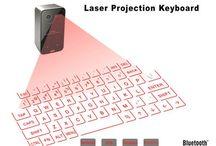 POCKET-SIZE WIRELESS LASER PROJECTION KEYBOARD #laser #mymobilegear #keyboard #pocket #pc