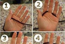 tricotat cu degetele