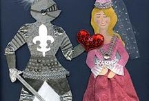 rytíři a princezny