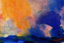 Emil Nolde - watercolor - gouache / paintings