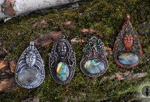 Unique Fantasy Jewelry / Fantasy jewelry pieces by Eartha Creations.
