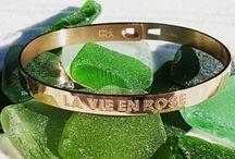 MILË MILA / Bijoux acier inoxydable  Argenté, doré ou rose gold à porter sans modération
