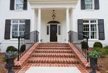 Brick Stairs and Entranceways