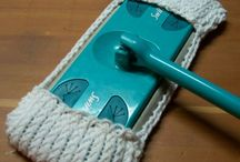 Knitted swiffer covers