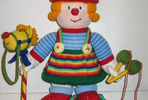 For the Kids / Hand Knitted dolls and toys
