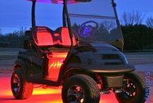 golf carts / by Neil Furlong