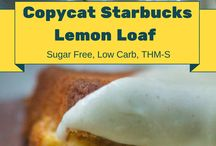 Sugar free lemon loaf