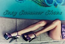 Sexy Summer Shoes / Sharing our Fabulicious sexy sandals and cutout booties for your summer feet.