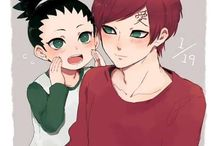 Gaara and Shikadai
