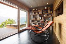 Architecture intérieure / POUR RESSENTIR UN BIEN-ÊTRE NATUREL, IL FAUT VIVRE DANS UNE MAISON EN BOIS MASSIF Confortable et régulatrice, fraîche et chaleureuse, réparatrice et vivifiante, la maison en bois massif est aménagée d'espaces généreux baignés de lumière pour tous les moments de la vie.