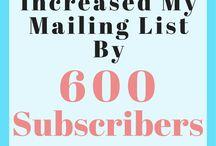 Blogging & Email Marketing