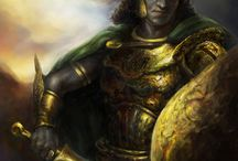 RPG Weapon & Shield Warriors