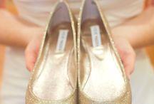 Gold wedding style