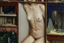 Dino Valls / Dino Valls is a Spanish painter born in 1959 in Zaragoza