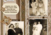 scrapbooking dop, konfirmation,bröllop
