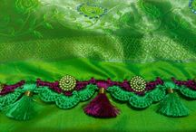 dupatta finishing