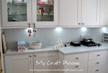 My Craft Room / This is my craft room, my favourite room in my house!